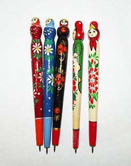 Ручка сувенирная  расписная