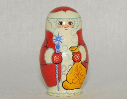 Новогодний сувенир 3 пр. роспись