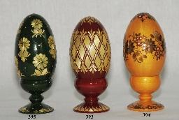 Яйцо на подставке инкрустация
