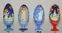 Яйцо рождественское на подставке